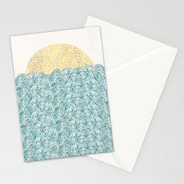 Sunny Tribal Seas Stationery Cards