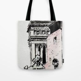 The lovers of the Capitoline Hill - Rome Tote Bag
