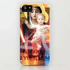 be good 2 your mum _ madonna and child iPhone (5, 5s) Slim Case