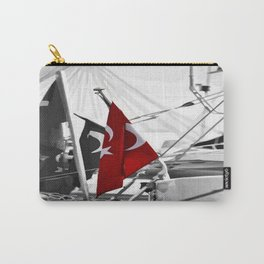 Flag of Turkey - Selective Coloring Carry-All Pouch