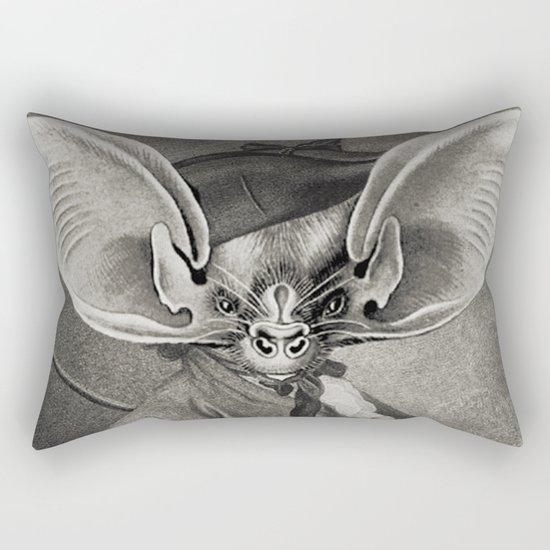 BAT OUT OF HELL Rectangular Pillow