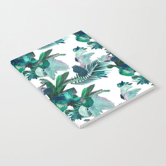 Midnight Iris Notebook