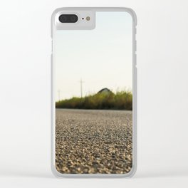 Dreaming a new way Clear iPhone Case