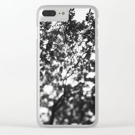Leaf Study #7 Clear iPhone Case