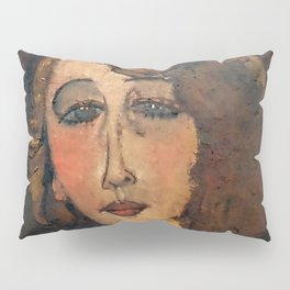 "Amedeo Modigliani ""Renée (The Blonde)"" Pillow Sham"