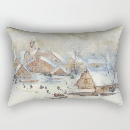 Christmas carols Rectangular Pillow