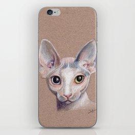 Sphynx cat iPhone Skin