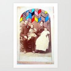 Family Values. Art Print