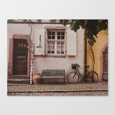 Le Vélo Canvas Print