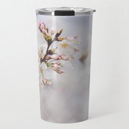 . delicate blossom . Travel Mug
