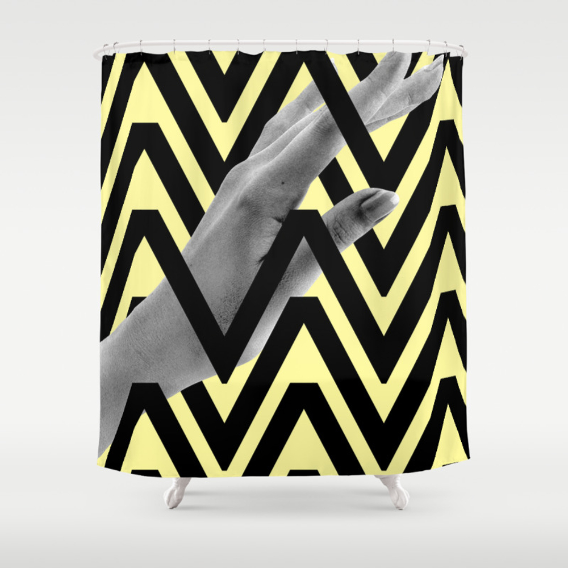 Caught Inside Shower Curtain by Tylerspangler CTN8483624