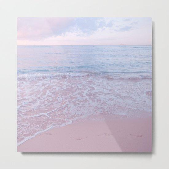 calm day 02 ver.pink Metal Print