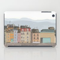 cityscape iPad Cases featuring Cityscape by Paint Your Idea