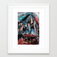 melbourne Framed Art Prints featuring Melbourne by sladja