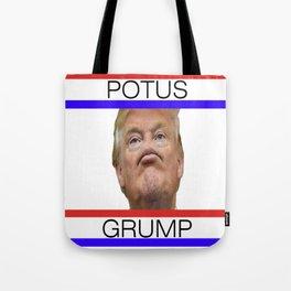 POTUS GRUMP - TRUMP Tote Bag