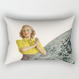 He Gave Her The Moon Rectangular Pillow