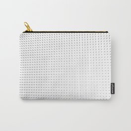 Black and White Minimal Line Pattern II Carry-All Pouch