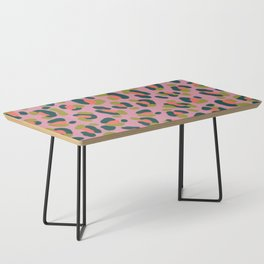 Pink Leopard Coffee Table