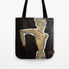 NUDE II ~ egon schiele by T'Mculus' Soul Tote Bag