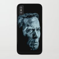 clint eastwood iPhone & iPod Cases featuring Clint Eastwood by artbyolev