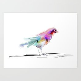 cute bird2 Art Print