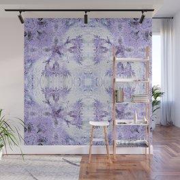 Inverse Fern Reflection Light Wall Mural