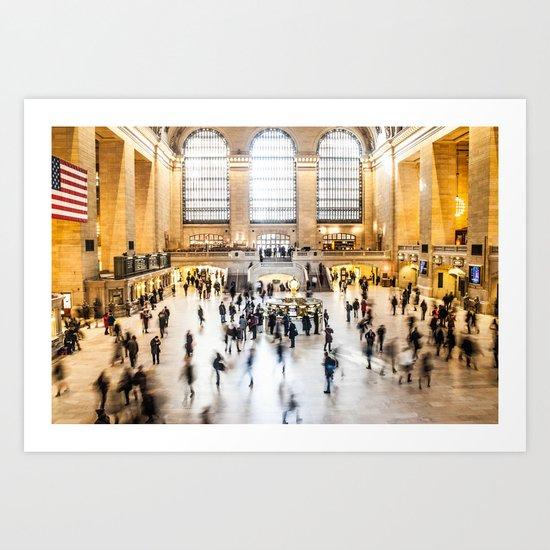 Grand Central Station New York City Art Print