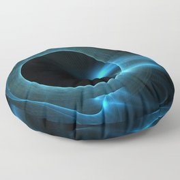 The Other side of the Wormhole Floor Pillow