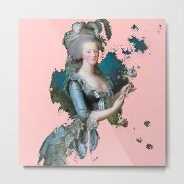 Marie Antoinette tribute pink Metal Print