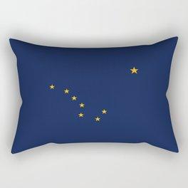 Alaskan Flag Rectangular Pillow