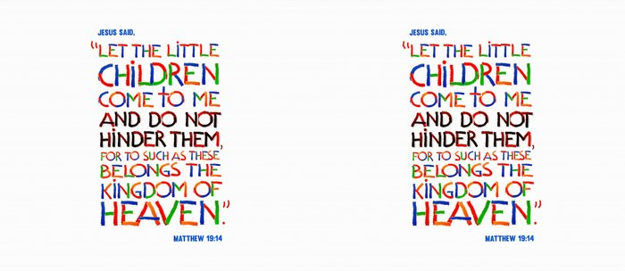 Let the little children come to me Coffee Mug