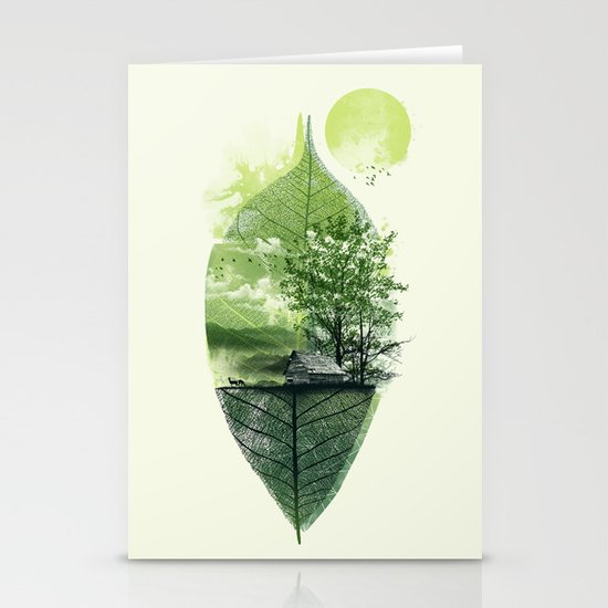 Live in Nature Stationery Cards