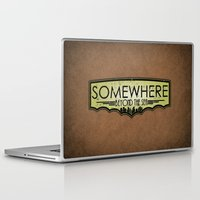 bioshock Laptop & iPad Skins featuring Somewhere Beyond the Sea by adho1982