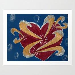 Love in Motion Art Print