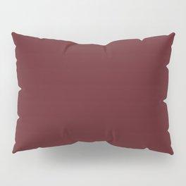 Burgundy Cranberry Christmas Classic Pillow Sham