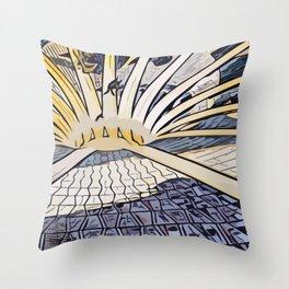Niemeyer Throw Pillow