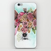 yorkie iPhone & iPod Skins featuring Yorkie by Carmen McCormick