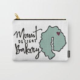Mount Dessert Bakery Logo Carry-All Pouch