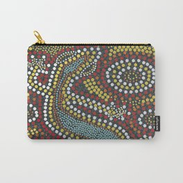 Aboriginal Pattern No. 2 Carry-All Pouch