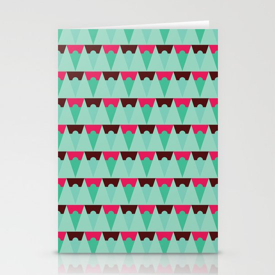 Chocolate Trees Stationery Cards