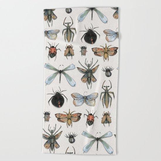Entomology Beach Towel