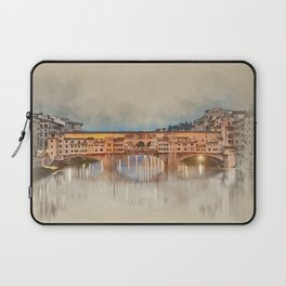 Firenze, Ponte Vecchio Laptop Sleeve
