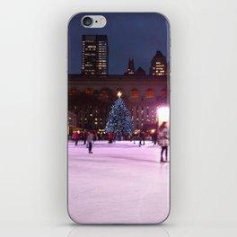 Skating NYC iPhone Skin