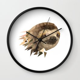 Sloth Design for slow runners running teams ;-) Wall Clock