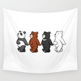 Dancing Bears Wall Tapestry