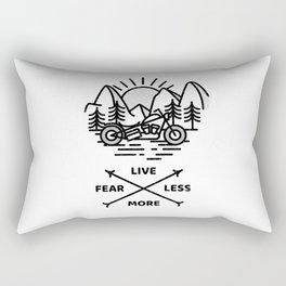 Live More Rectangular Pillow