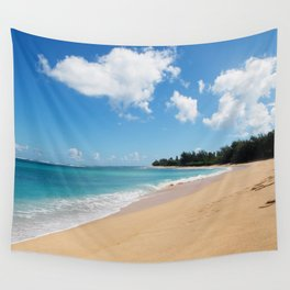 Tunnels beach Wall Tapestry