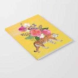 Tiger Bloom Notebook