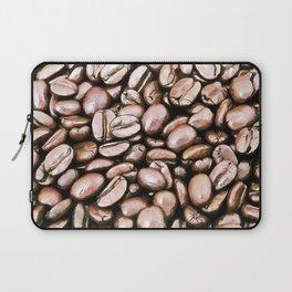 roasted coffee beans texture acrstd Laptop Sleeve