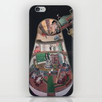 physics iPhone & iPod Skins featuring The house of the queen of physics by Gustaf's shop